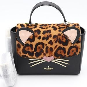 Kate Spade Run Wild Leopard Kerrie Crossbody Bag